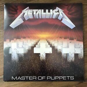 Metallica 'Master of Puppets' LP 1986