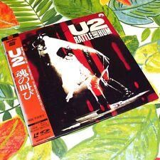 U2 - Rattle and Hum JAPAN LD Laser Disc Laserdisc with OBI SM047-3373 NTSC #002