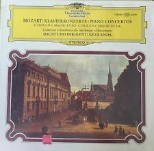 DGG 139 384-MOZART-PIANO CONCERTOS-GEZA ANDA-ORIGINAL TULIP ED VINYL LP IMPORT