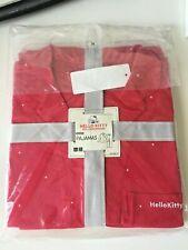 UNIQLO Hello Kitty 45th Anniversary Women Pajama Set (Long Sleeves) RED Medium