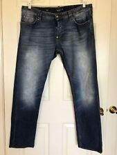 Philipp Plein Authentic faded jeans in Nevada wash size 38