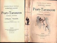 """ENV. 1922 - ALPHONSE DAUDET """"PORT-TARASCON"""" - ILLUSTRÉ  (MYRBACH ETC...)"""