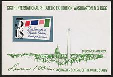 US #1311 1966 SIPEX MNH,OG Sheet Stamp