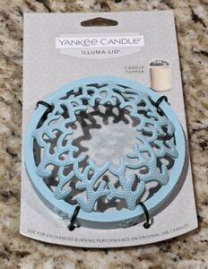 Yankee Candle Blue Coral Illuma Lid - Coastal