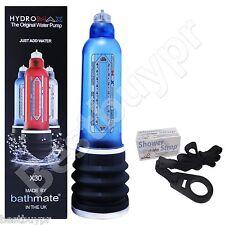 Blue Bathmate Hydromax X30 + Free Shower Strap Penis Water Pump Extender