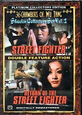 Street Fighter-Return Of The Street Fighter-DVD Region 1-Brand New-Still Sealed