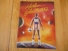 Harlem Globetrotters:«World Tour 1988»Official Program Photos in Colors 34pages.