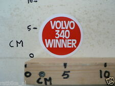 STICKER,DECAL VOLVO 340 WINNER CAR AUTO
