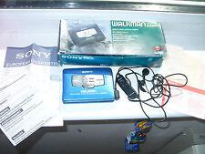 SONY WM-EX660 WALKMAN PERSONAL CASSETE PLAYER ,BOX,INSTRUCTION