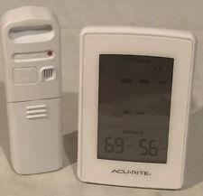 AcuRite Thermometer Indoor Outdoor Temperature Humidity Wireless sensor Digital