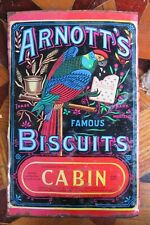 .Arnott's Cabin Biscuits Tin panel - large.