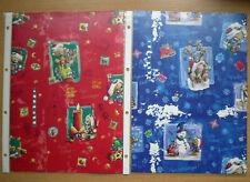 Diddl Pimboli Geschenkpapier A4-Zuschnitt ##  Weihnachtsrolle 1 + 2  ##