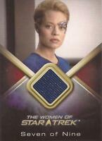 "Women of Star Trek - WCC7 Jeri Ryan ""Seven of Nine"" Costume Card"