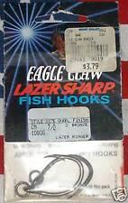 Eagle Claw 7/0 Lazer Sharp Ringer Fishing Hooks  qty 2