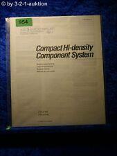 Sony Bedienungsanleitung FH 414 / L Component System  (#0954)
