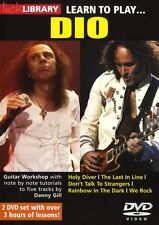 LICK LIBRARY Learn to Play DIO Holy Diver We Rock Electric Metal GUITAR DVD ROCK