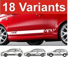 Opel Corsa Seiten Streifen Aufkleber Opel Corsa VXR GSI Sri SXI Leiste Aufkleber