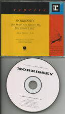 The Smiths MORRISSEY More you ignore me the closer I get PROMO DJ CD Single 1994