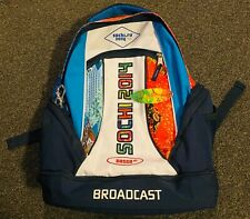OFFICIAL SOCHI OLYMPICS 2014 BOSCO  BROADCAST BACKPACK COLORFUL COLLECTIBLE