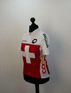 Assos Women's Swiss Cycling Team Jersey T-Shirt size M