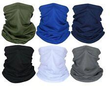 Multi-use Tube Scarf Bandana Head Face Mask Neck Gaiter Head Wear summer