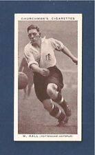 TOTTENHAM HOTSPUR WILLY HALL  The Spurs NOTTS COUNTY FC 1938 photo card