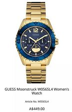 Guess Ladies Moonstruck W0565L4 Women's Quartz Watch RRP$449