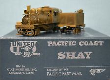 PFM/United - Brass HO Scale - Pacific Coast Shay