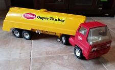 Vintage Collectable Tonka Pressed Steel Tractor Trailer Super Tanker Truck