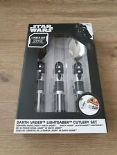 FUNKO - Star Wars 3 Piece Darth Vader Cutlery Set W/ Lightsaber Handles - NEW
