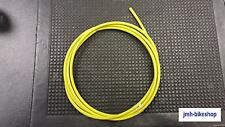 Bicycle Outer Brake Gear cable Yellow Housing Casing Workshop  NEW 2 Meters