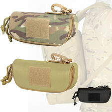 Tactical Military Molle Pouch Glasses Protective Eyeglass Case Waist Pack Bag