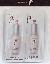 The History of Whoo Seol Radiant White Eye Serum 70pcs Latest Version Free Track