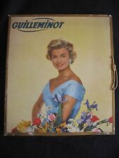 """'GUILLEMINOT' VINTAGE FRENCH CHAMPAGNE 12"""" ADVERTISING SHOWCARD c.1950's EX"""