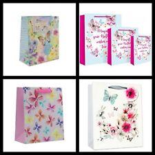 Gift Bags ~ Medium Size Gift Bag Birthday's Wedding's  Etc ~ Various Designs