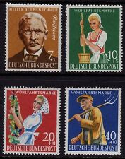 W Germany 1958 Humanitarian Relief SG 1214/7 MNH