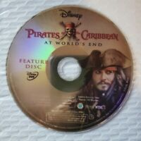 Pirates Of The Caribbean : At World's End DVD Only NO Cover