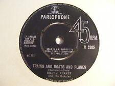 """BILLY J KRAMER & THE DAKOTAS Trains & Boats & Planes Ex 1965 UK 7"""""""