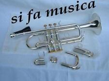 GRASSI TR 900 tromba MIb RE finitura argento silver + case per banda e orchestra