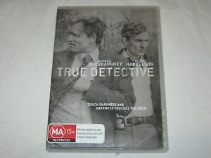True Detective - Matthew McConaughey - 3 Disc - VGC - Region 4 - DVD