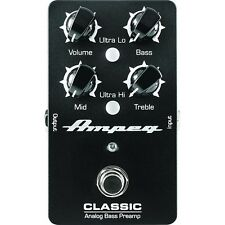 Ampeg Classic Analog Bass Preamp Effects Pedal