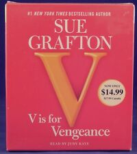 Brand New Kinsey Millhone Mystery: V Is for Vengeance by Sue Grafton Audiobook