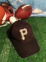 PITTSBURGH PIRATES black MLB FSN sports promo Baseball cap hat adjustable H19