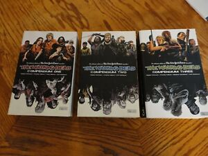 The Walking Dead Compendiums #1, #2, and #3