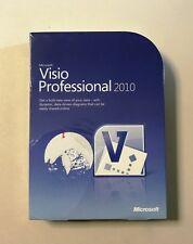 MS Visio 2010 Professional Vollversion englisch inkl.2ter Installation D87-04394