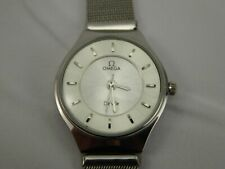 Omega DeVille SWISS Lades watch Stainless Steel A0S805-1244 Quartz Movement