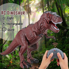 Walking Remote Control Infrared Tyrannosaurus Dinosaur Toy Light Sound Action