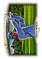 TIGER WOODS 2017 UD GOODWIN CHAMPIONS #95 ($0.75 MAX SHIPPING)
