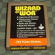Play faster american version of wizard of wor atari vcs 2600 ntsc