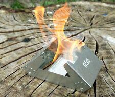 MILITARY ISSUE BCB FIREDRAGON MULTI-FUEL COOKER STOVE HEXAMINE BUSHCRAFT
